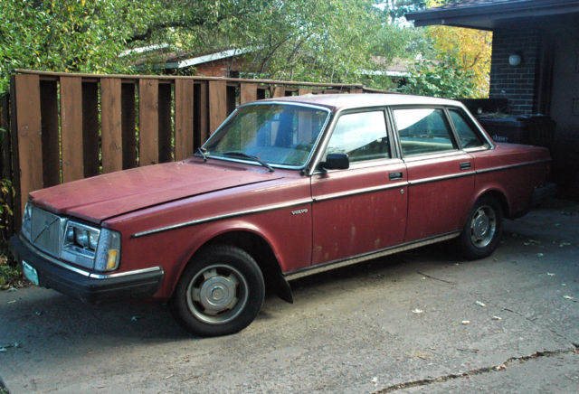 '85 Volvo 244 DL 115k miles, posi rear, runs fine.