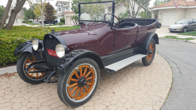 Reo Car: 1916 Reo Model M 7 Passesger Touring