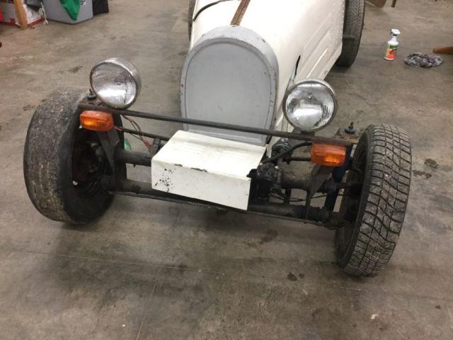 1920's replica Bugatti kit car  VW  Fiberglass body convertible