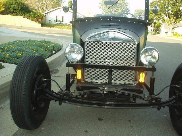 Vintage steel hot rods