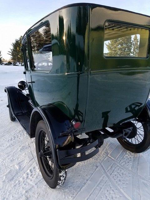 1927 ford model t 2 door tudor sedan barn find new wood for 1927 ford model t 4 door sedan
