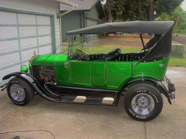 1927 ford model t 4 door touring street rod chevy 350ci for 1927 ford model t 4 door sedan