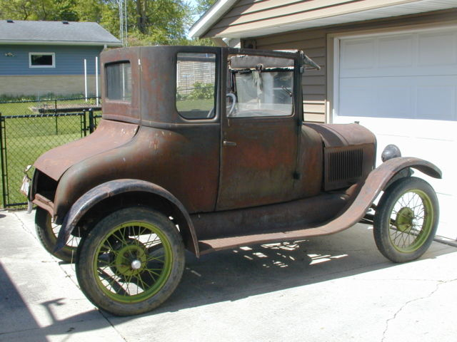 1927 Ford Model T Coupe Project