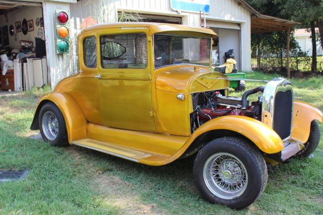 1928 29 ford model a 5 window coupe