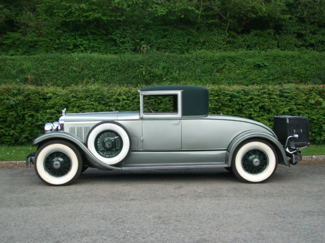 1928 Chrysler Imperial Le Baron L80 Club Coupe, -only 25 built, two remain.