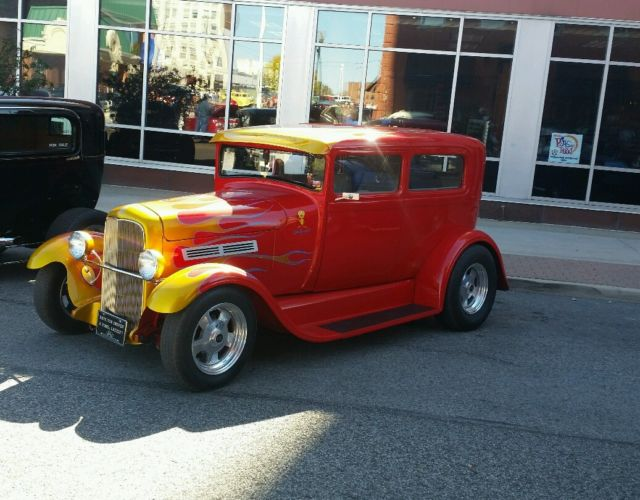1928 ford model a 2 door sedan street rod for 1928 chevrolet 2 door coupe for sale
