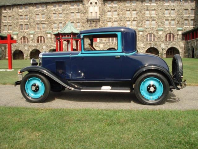 1929 chevy 3 window coupe