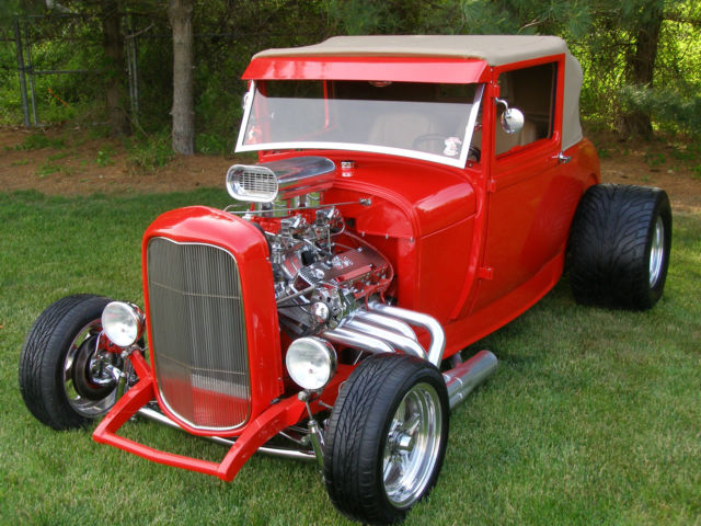 1929 Ford Hot Rod Incredible Build All Steel 1932 Ford