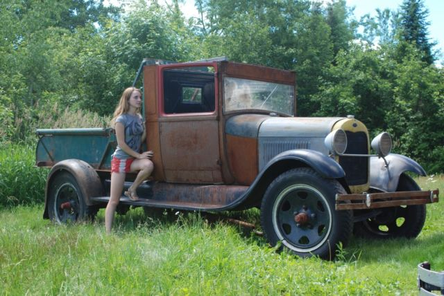 1929 Ford Model A Aa Wrecker Tow Truck Barn Find Patina