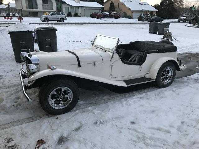 1929 mercedes benz gazelle replica kit car for Mercedes benz car care kit