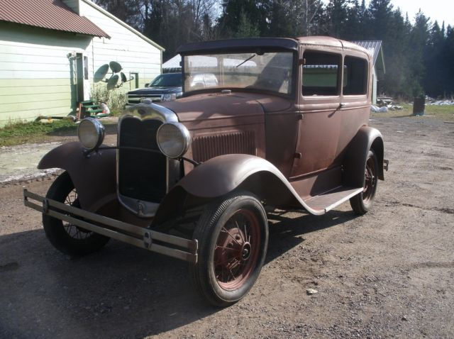 1930 ford model a 2 door sedan tudor many new parts barn for 1930 ford model a two door sedan