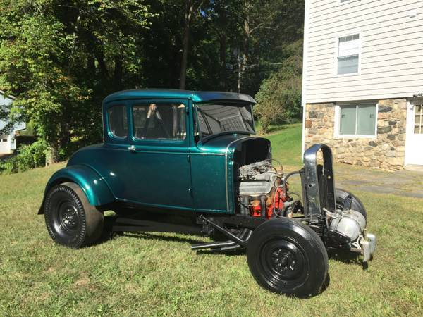 1930 ford model a coupe real 50 39 s gasser hotrod drag car. Black Bedroom Furniture Sets. Home Design Ideas