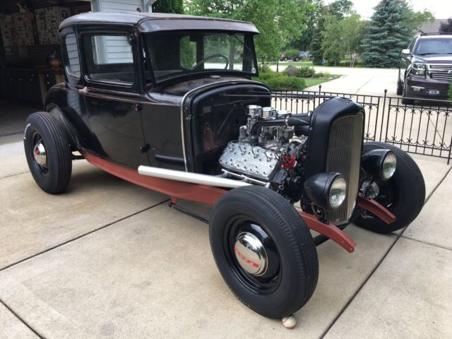 1930 ford model a coupe traditional hot rod project 1932 rails. Black Bedroom Furniture Sets. Home Design Ideas