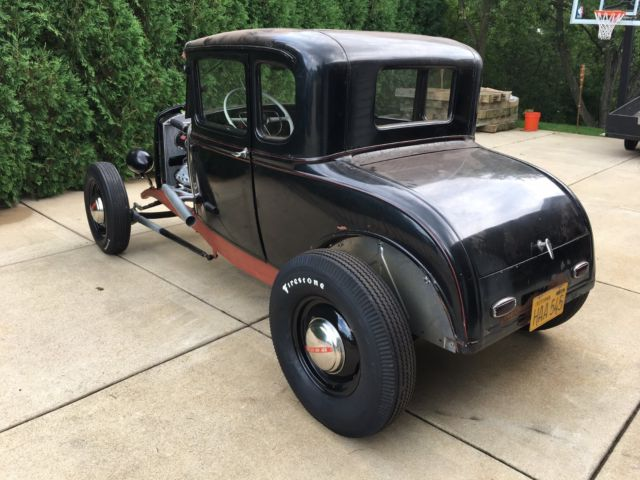 Ford Model A Coupe Traditional Hot Rod Project Rails