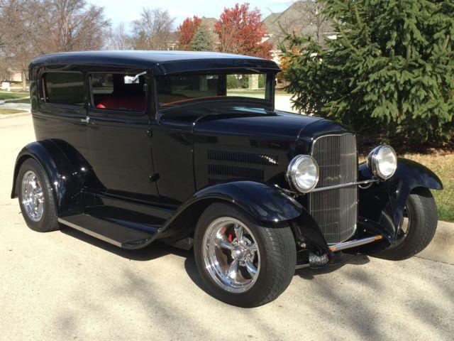 1930 ford street rod tudor model a big dollar custom must
