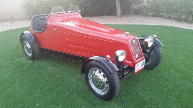 1931 Alfa Romeo P-2 Monoposto Roadster