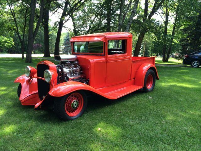 1932 Street Rod Parts : Chevrolet pickup street rod hot
