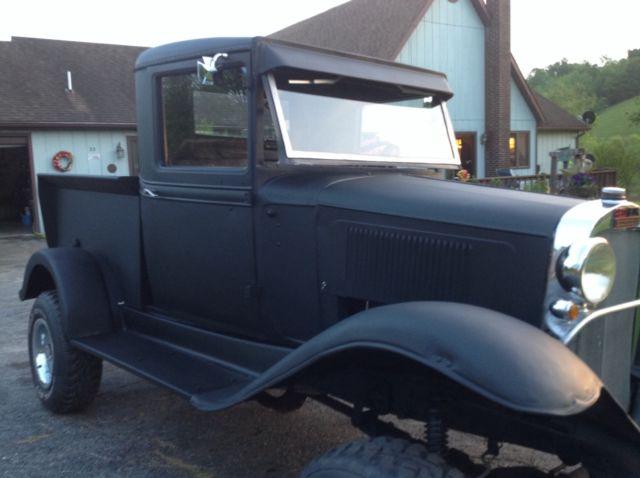 1932 Chevrolet Truck 4x4 Hotrod build