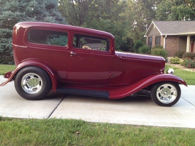 1932 ford 2 door sedan henry steel chopped 2 1 2 inches