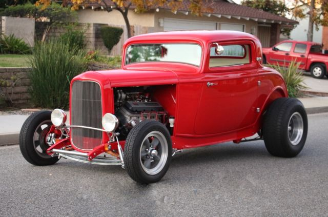 1932 ford 3 window coupe big block chevy 5 speed manual for 1932 chevy 5 window coupe