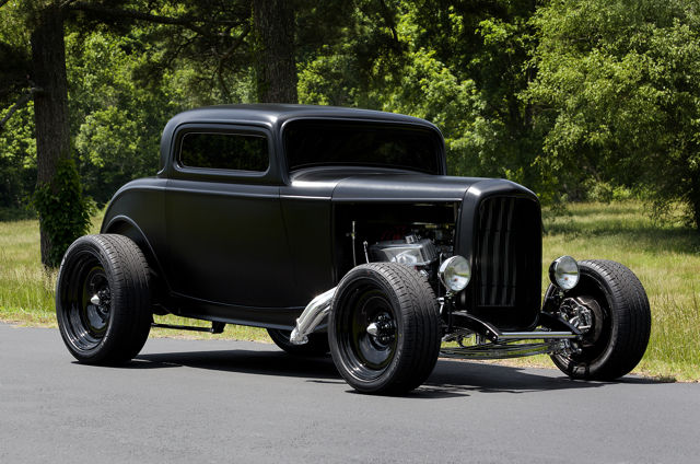 1932 ford 3 window coupe fresh build turn key hot rod for 1932 ford 3 window coupe chassis