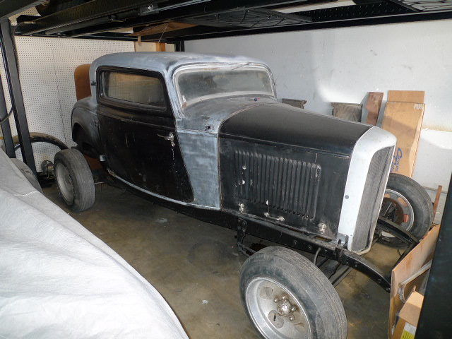 1932 ford 3 window coupe original henry ford steel w for 1932 ford 3 window coupe steel body