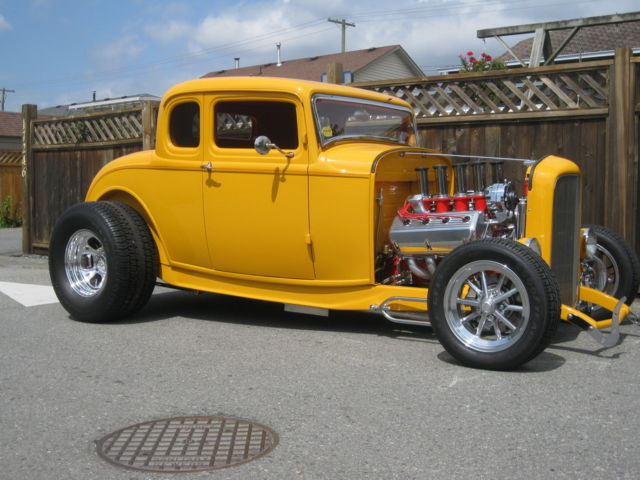 1932 ford 5 window coupe 39 streetrod fuel injected hemi for 1932 ford 5 window coupe project for sale