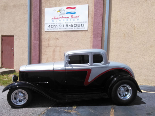 1932 ford 5 window henry ford steel bodied coupe for 1932 ford 3 window coupe steel body