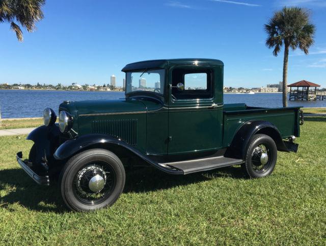1932 ford model b pickup hot rod scta truck. Black Bedroom Furniture Sets. Home Design Ideas