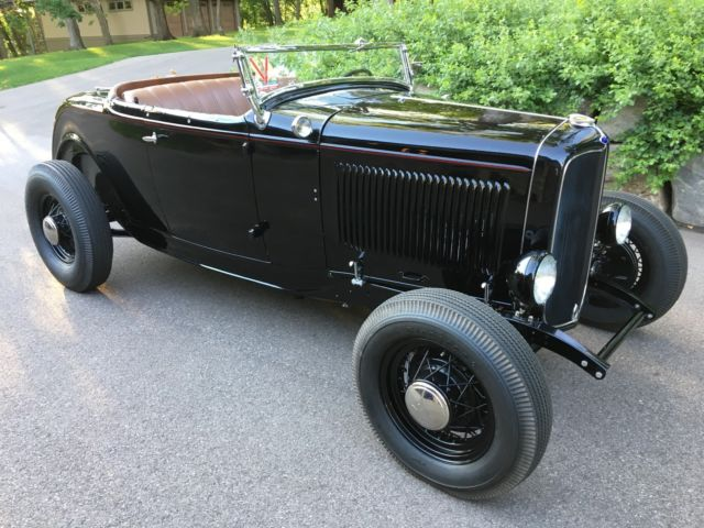 Ford Roadster Highboy Pre War Black Hot Rod Original Flathead Eddie Meyer
