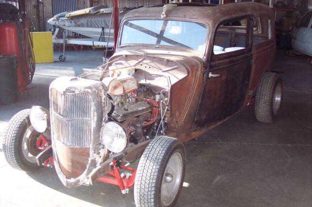 1933 1934 ford 2 door sedan rat rod old school for 1934 ford 4 door for sale
