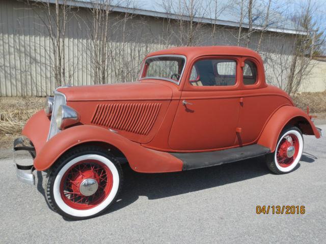 & 1933 Ford 5W coupe project car 1932 1940 1934 Hot Rod markmcfarlin.com