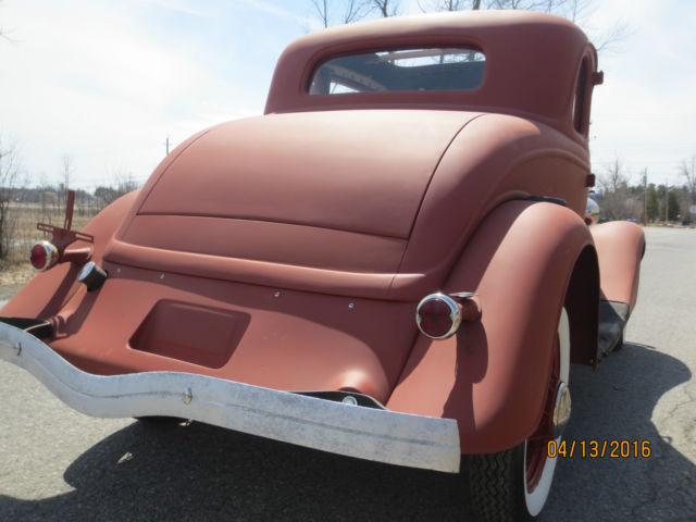 1933 ford 5w coupe project car 1932 1940 1934 hot rod for 1934 ford 3 window coupe project for sale