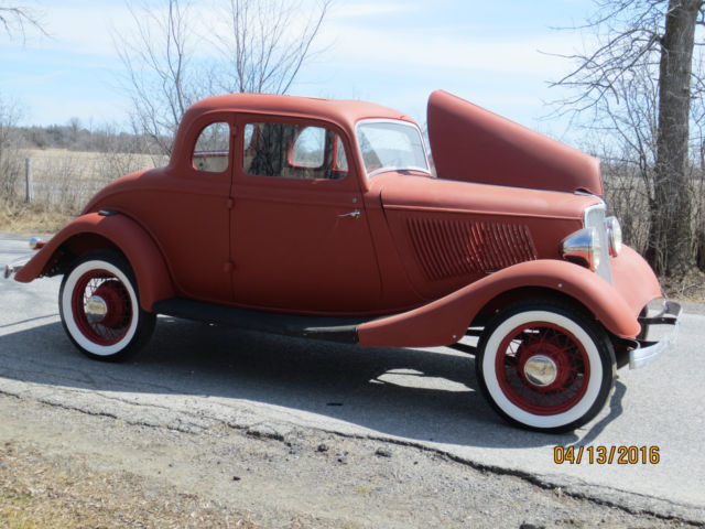 1933 Ford 5w Coupe Project Car 1932 1940 Hot Rod