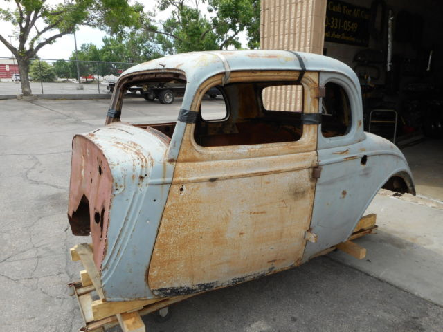 1934 ford 5 window coupe body project 1932 33 rat hot for 1934 ford 3 window coupe steel body