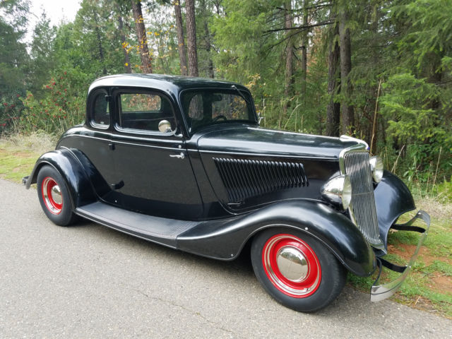 1934 ford 5 window coupe real steel for 1934 ford five window coupe for sale