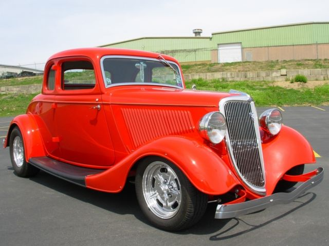 1934 ford 5 window coupe street rod no chop 383 chevy for 1934 chevrolet 5 window coupe