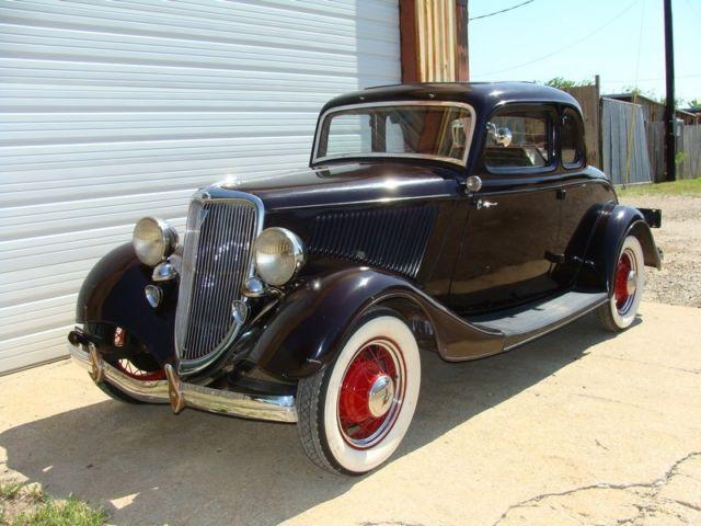 1934 ford coupe barn find thomas weeks fired up garage misfit garage. Black Bedroom Furniture Sets. Home Design Ideas