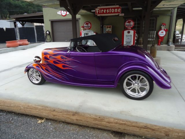 1934 Ford Coupe Cabriolet Roadster Hot Street Rod