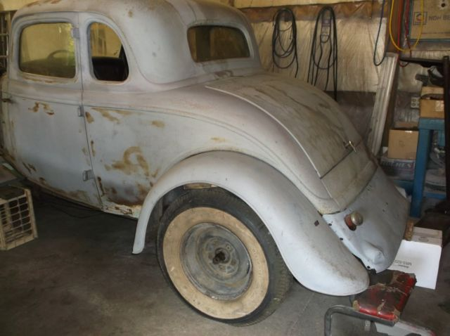 1934 Ford Coupe Original All Steel Body