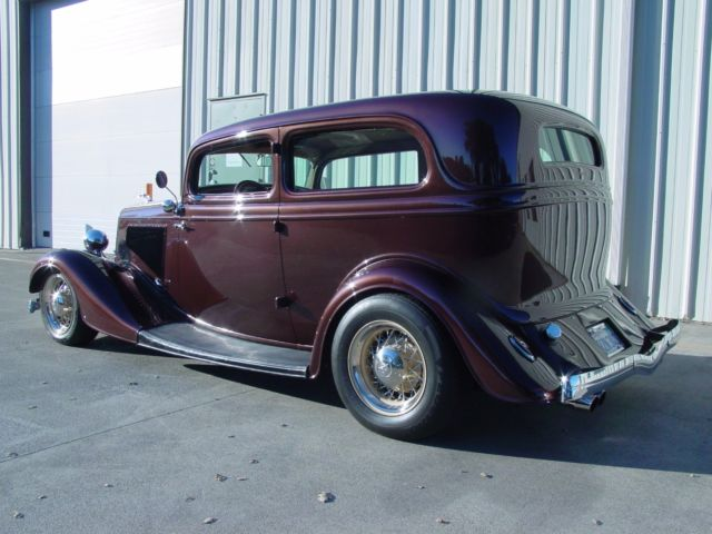 1934 ford two door chopped steel body beautiful street rod for 1934 ford two door sedan