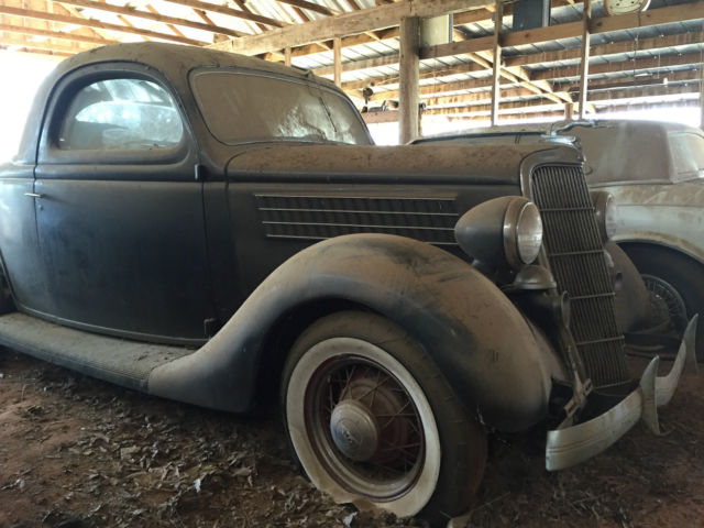 1935 ford 3 window coupe barn find for 1935 ford 3 window