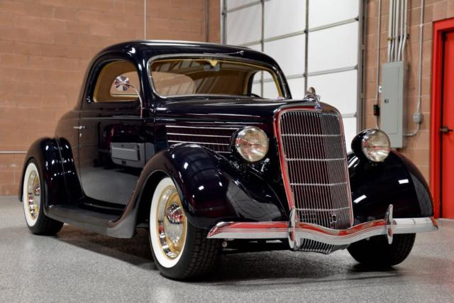 1935 ford 3 window coupe fresh concours rotisserie build for 1935 ford three window coupe