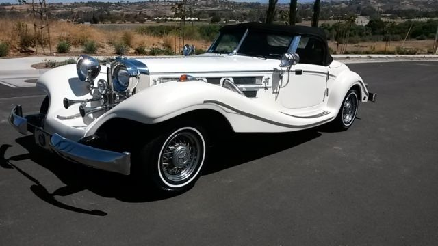 1935 mercedes benz 500k roadster v8 automatic leather