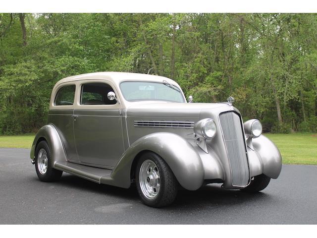 1935 plymouth 5 window 100 miles silver 2 door 454 cu in for 1935 plymouth 2 door sedan