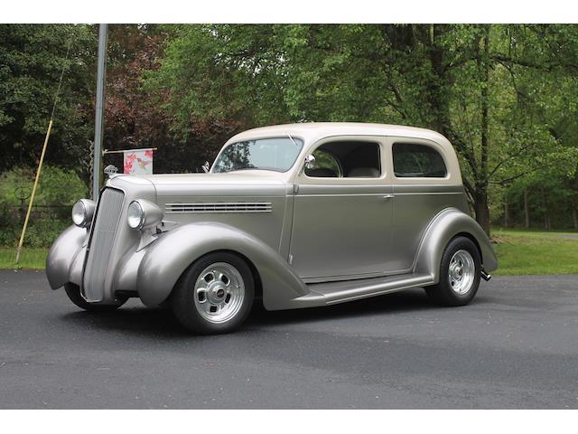 1935 plymouth 5 window 100 miles silver 2 door 454 cu in for 100 doors 2 door 8