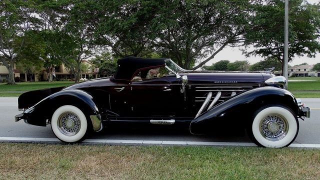 1936 auburn boat tail speedster replica movie star. Black Bedroom Furniture Sets. Home Design Ideas