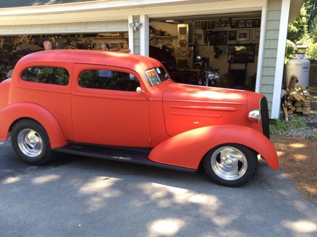 1936 chevy two door sedan street rod hot rod for 1936 chevy 4 door sedan