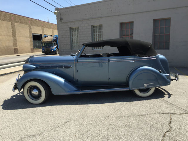 1936 Chrysler C-6 4 DOOR CONVERTIBLE RARE CAR BUICK CHEVY ...