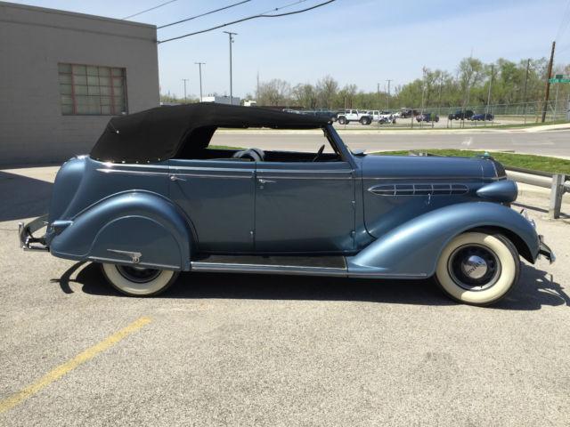 1936 chrysler c 6 4 door convertible rare car buick chevy for 1936 chevy sedan 4 door
